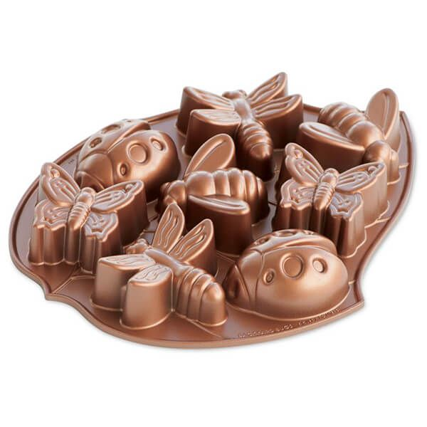 Nordic Ware Backyard Bugs Pan Copper