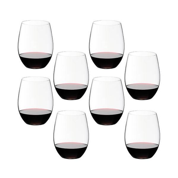 Riedel O Cabernet / Merlot Wine Glass Eight Piece Set