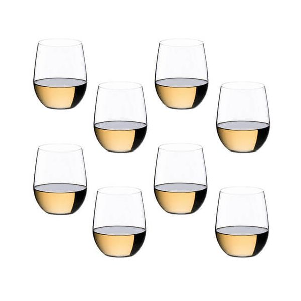 Riedel O Viognier / Chardonnay Wine Glass 8 Piece Set