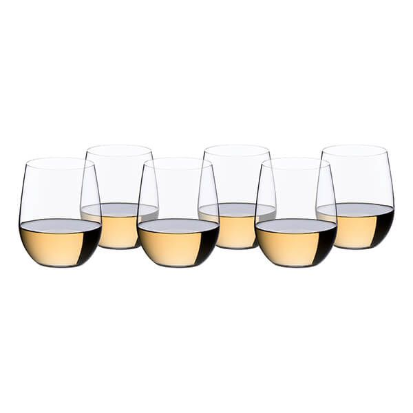 Riedel O 265 Year Anniversary Viognier / Chardonnay Wine Glass Set Of 6
