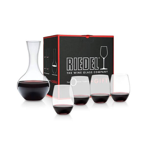 Riedel O Cabernet / Merlot and Syrah Decanter Gift Set