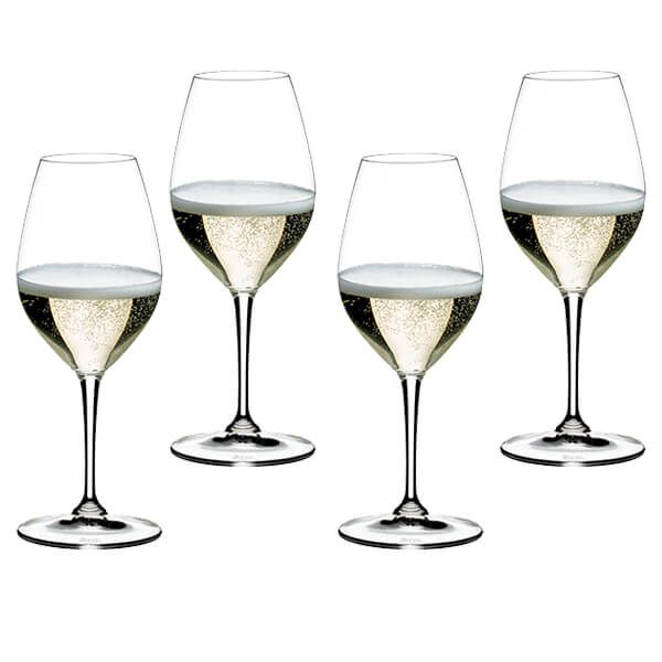 Riedel Vinum Champagne Wine Glasses Set Of 4
