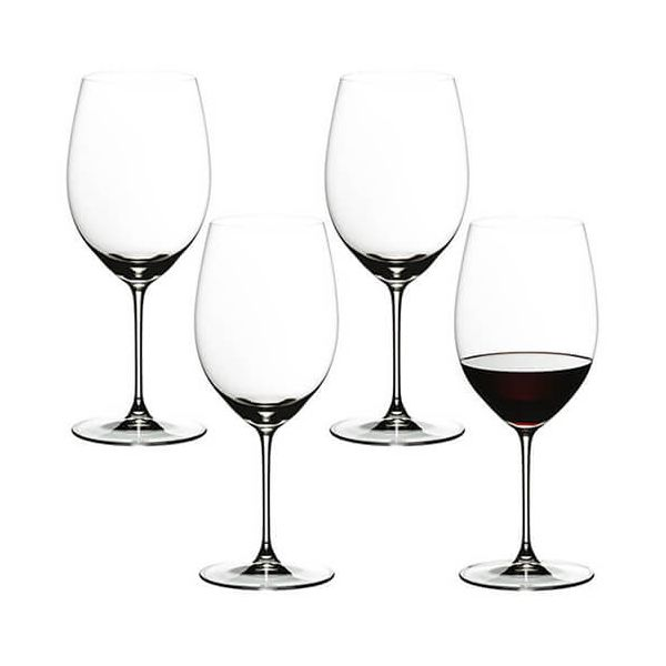 Riedel Veritas Cabernet / Merlot Wine Glass Set Of 4