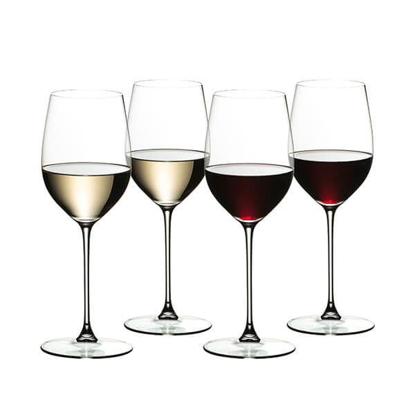 Riedel Veritas 265 Year Anniversary Viognier / Chardonnay Set Of 4