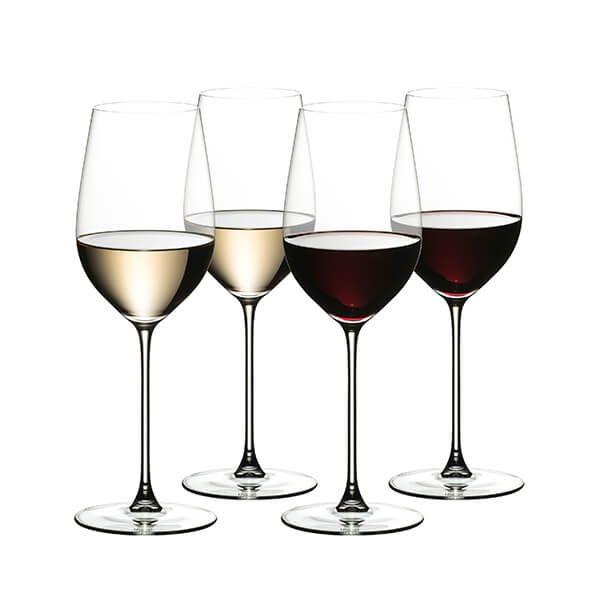 Riedel Veritas 265 Year Anniversary Riesling / Zinfandel Wine Glass Set Of 4