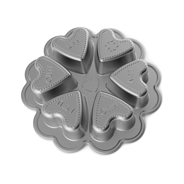 Nordic Ware Conversation Hearts Baking Pan