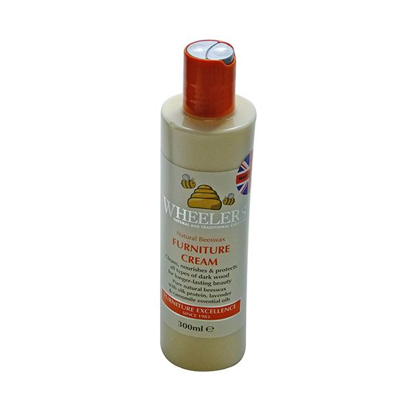 Eddingtons Wheelers Natural Beeswax Furniture Cream 300ml