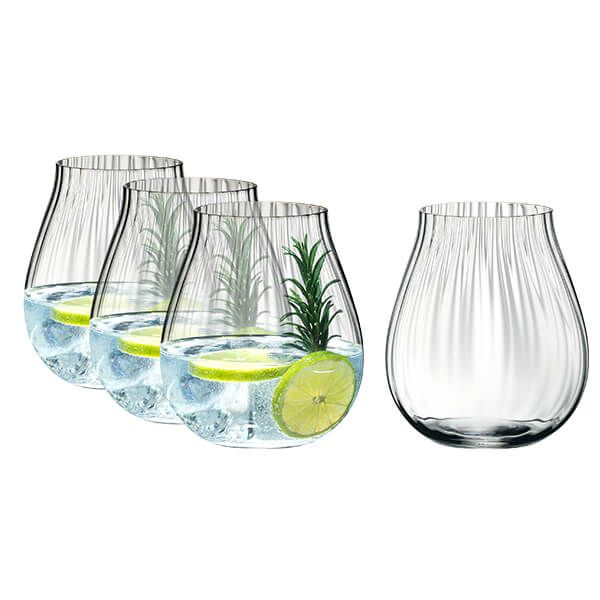 "Riedel Gin Set Optic ""O"" Set"