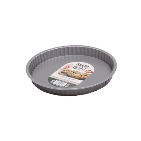 Baker & Salt Non-Stick Quiche/Flan Tin