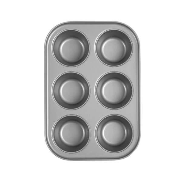 Baker & Salt 6 Cup Jumbo Muffin Tin