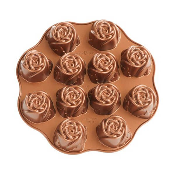 Nordic Ware Sweetheart Rose Muffin Pan