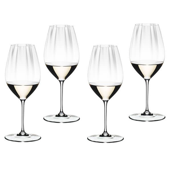 Riedel Performance Set of 4 Riesling Wine Glasses