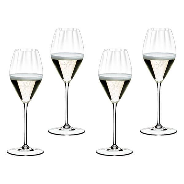 Riedel Performance Set of 4 Champagne Wine Glasses