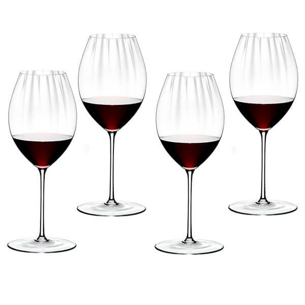Riedel Performance Set of 4 Syrah / Shiraz Wine Glasses
