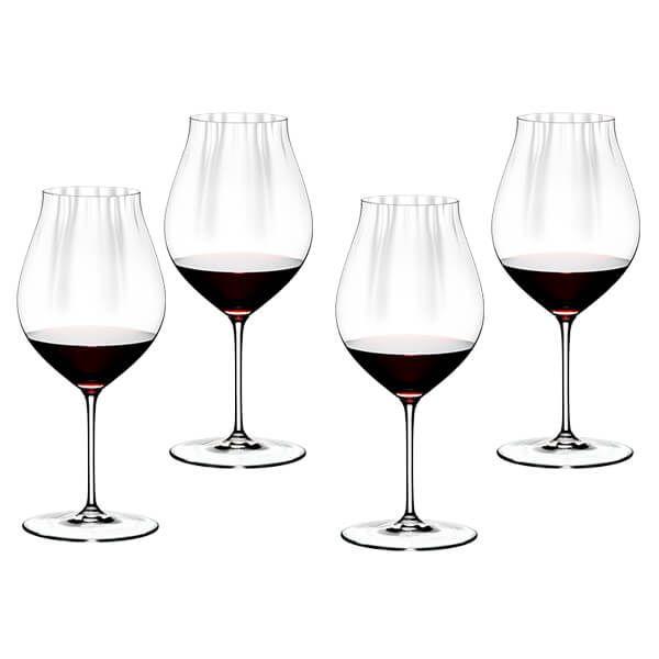 Riedel Performance Set of 4 Pinot Noir Wine Glasses