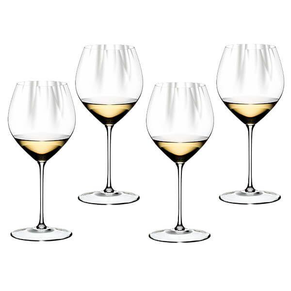 Riedel Performance Set of 4 Chardonnay Wine Glasses