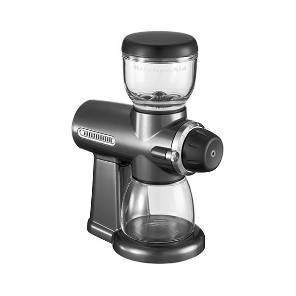 KitchenAid Artisan Pearlescent Metallic Grey Burr Grinder
