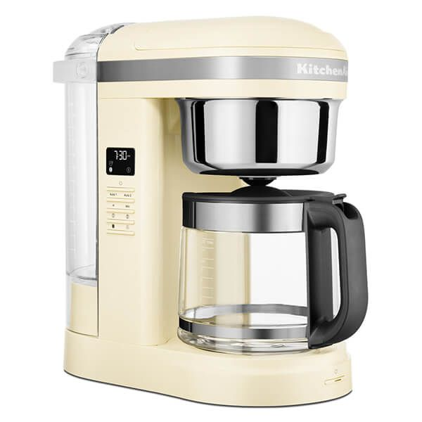 KitchenAid 12 Cup Drip Coffee Maker Almond Cream