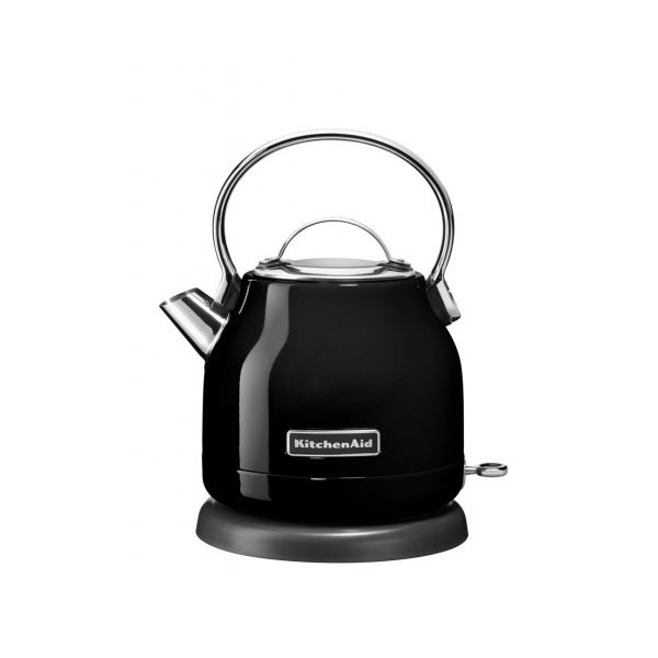 KitchenAid Traditional Kettle 1.25L Onyx Black