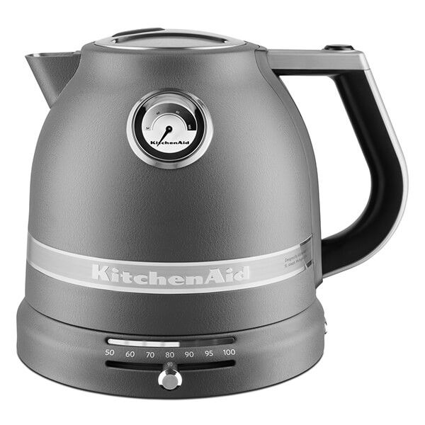 KitchenAid Artisan Matt Imperial Grey 1.5L Kettle