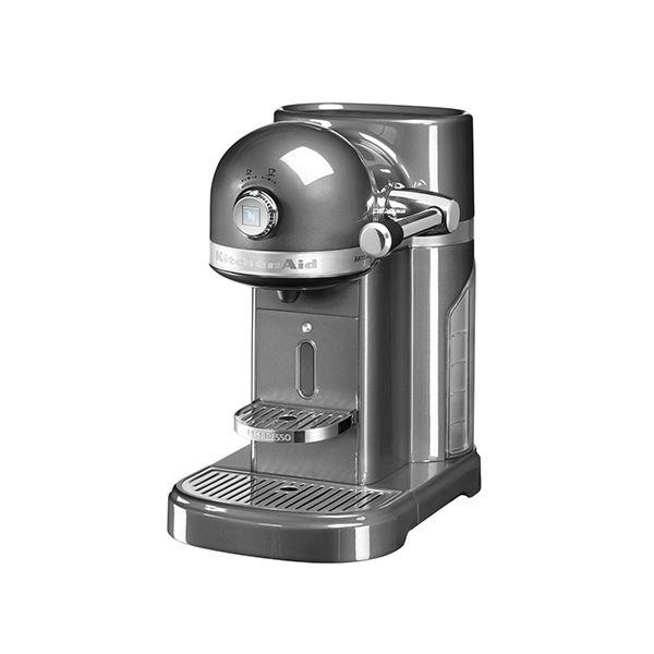 KitchenAid Artisan Nespresso Medallion Silver Coffee Maker