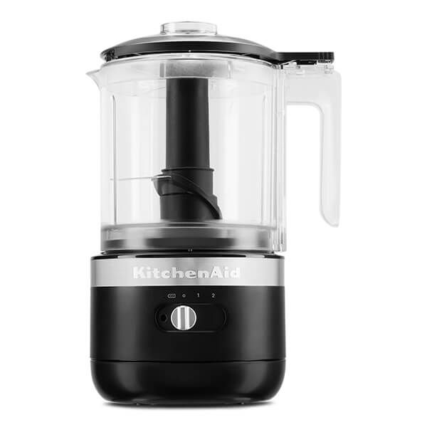 KitchenAid Matte Black Cordless Food Chopper