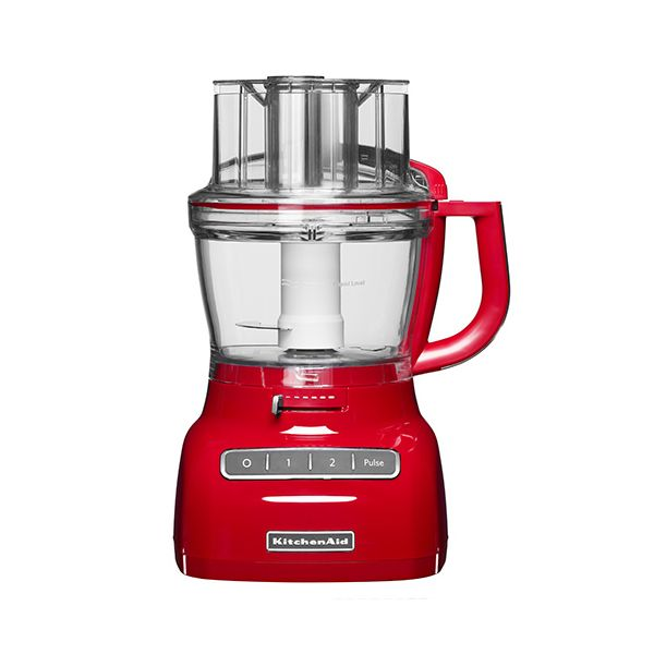 KitchenAid 3.1L Empire Red Food Processor