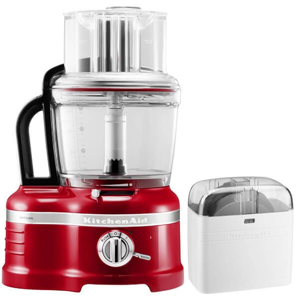 KitchenAid Artisan Empire Red 4L Food Processor with FREE Gift