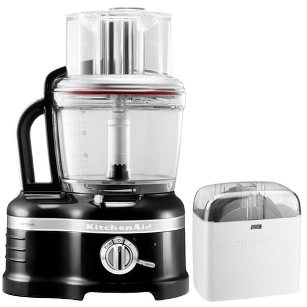 KitchenAid Artisan Onyx Black 4L Food Processor with FREE Gift