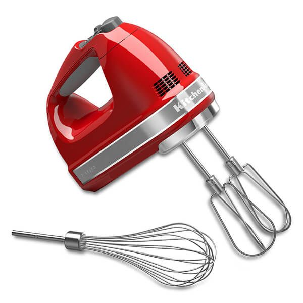 Kitchenaid 7 Speed Hand Mixer Empire Red