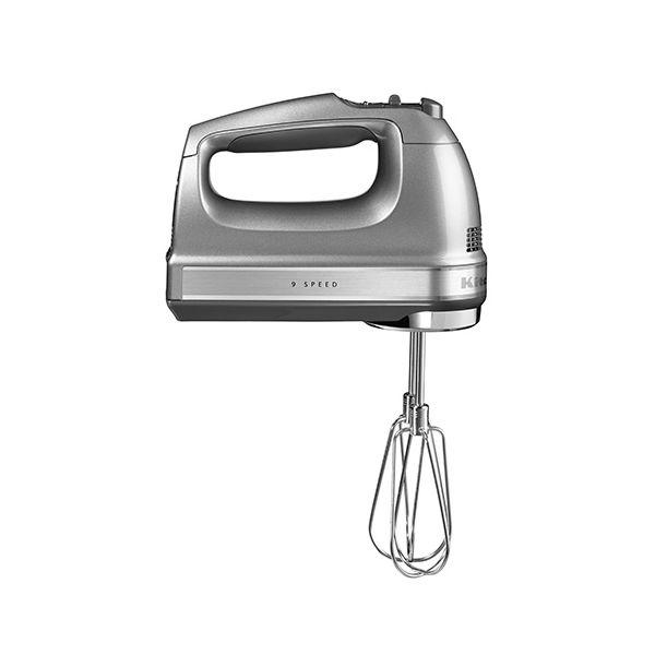 KitchenAid 9 Speed Hand Mixer Contour Silver