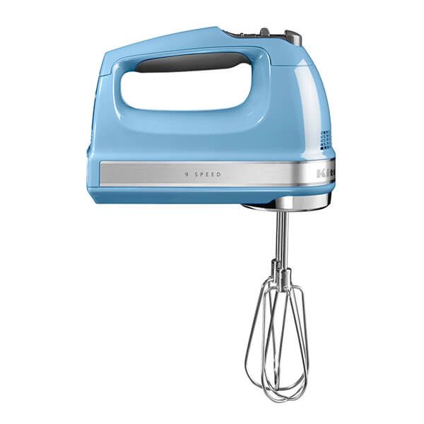 KitchenAid Velvet Blue 9-Speed Hand Mixer