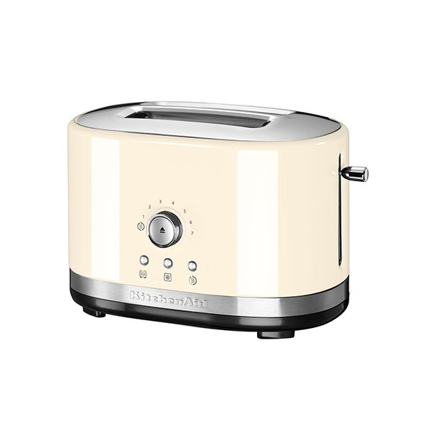 KitchenAid Almond Cream Manual Control Toaster