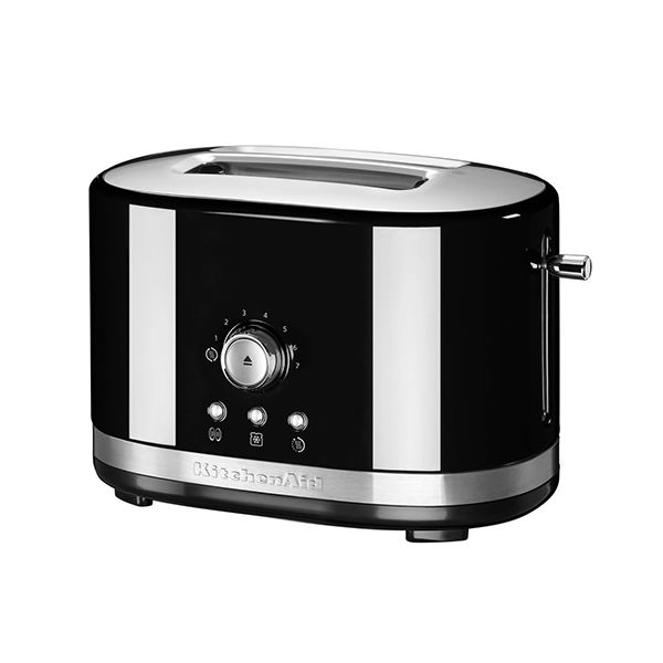 KitchenAid Onyx Black Manual Control Toaster