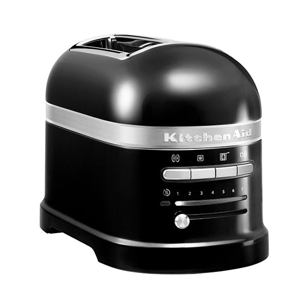 KitchenAid Artisan Onyx Black 2 Slot Toaster