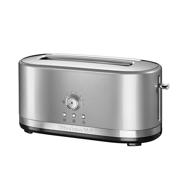 KitchenAid Contour Silver Manual Control Long Slot Toaster