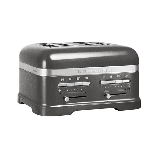 KitchenAid Artisan Medallion Silver 4 Slot Toaster