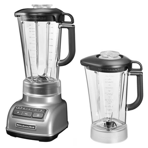 KitchenAid Diamond Blender Contour Silver with FREE Gift