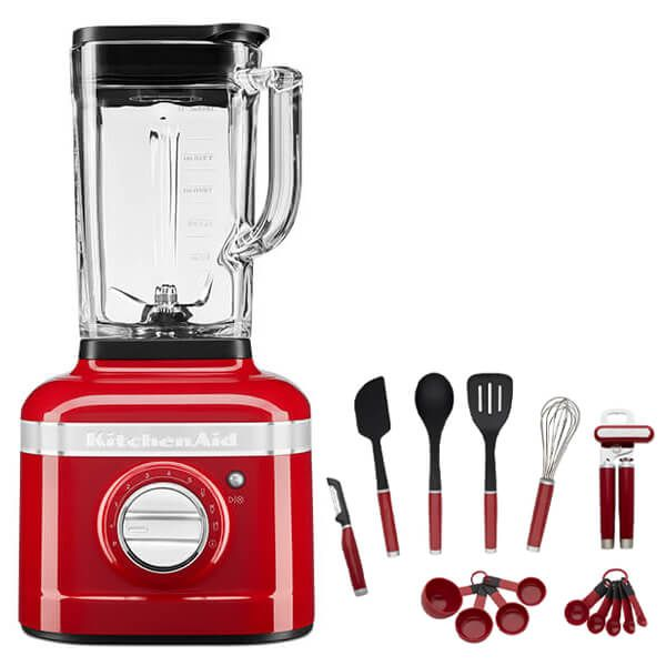KitchenAid Artisan Candy Apple K400 Blender with FREE Gift