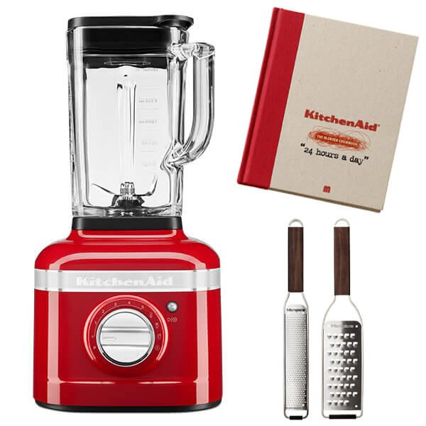 KitchenAid Artisan Candy Apple K400 Blender with FREE Gifts