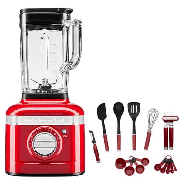 KitchenAid Artisan Empire Red K400 Blender with FREE Gift