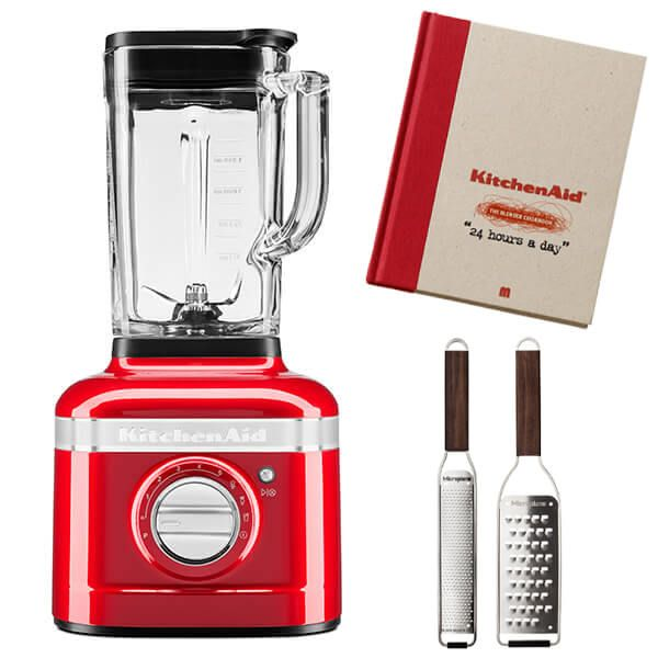 KitchenAid Artisan Empire Red K400 Blender with FREE Gifts