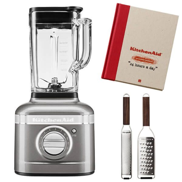 KitchenAid Artisan Medallion Silver K400 Blender with FREE Gifts