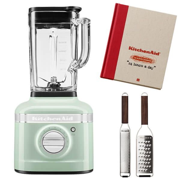 KitchenAid Artisan Pistachio K400 Blender with FREE Gifts