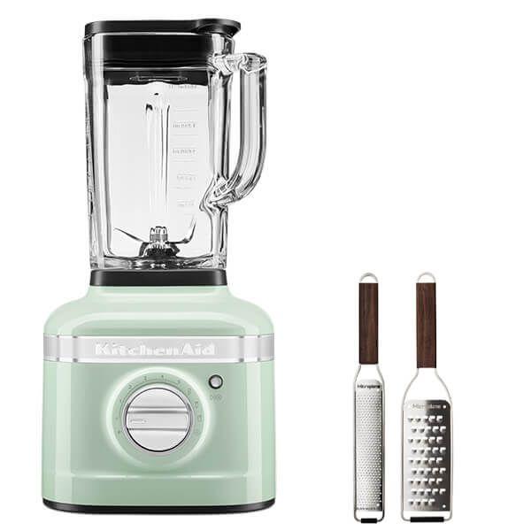 KitchenAid Artisan Pistachio K400 Blender with FREE Gift