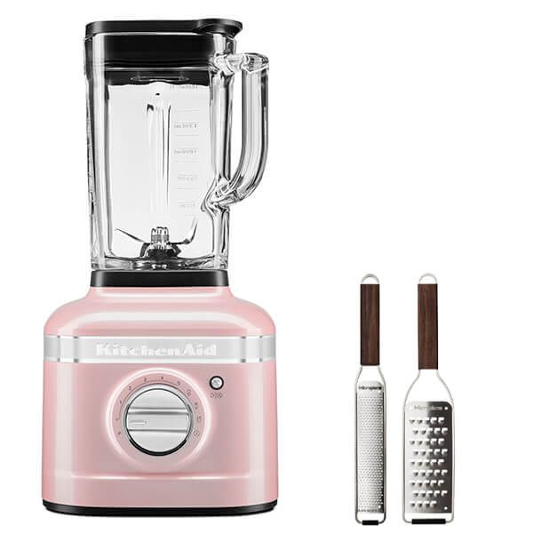 KitchenAid Artisan Silk Pink K400 Blender with FREE Gift