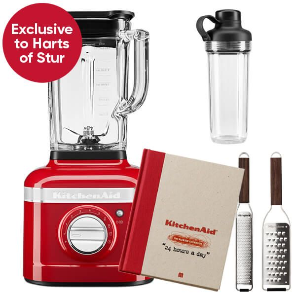 KitchenAid Artisan Candy Apple K400 Blender with Personal Jar and FREE Gifts