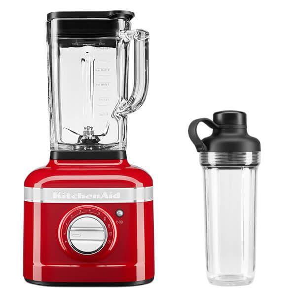 KitchenAid Artisan Candy Apple K400 Blender with Personal Jar
