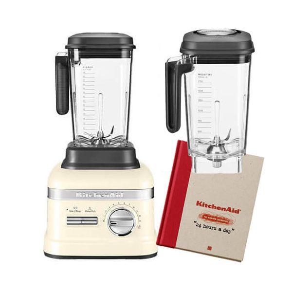 KitchenAid Artisan Almond Cream Power Blender with FREE Gifts