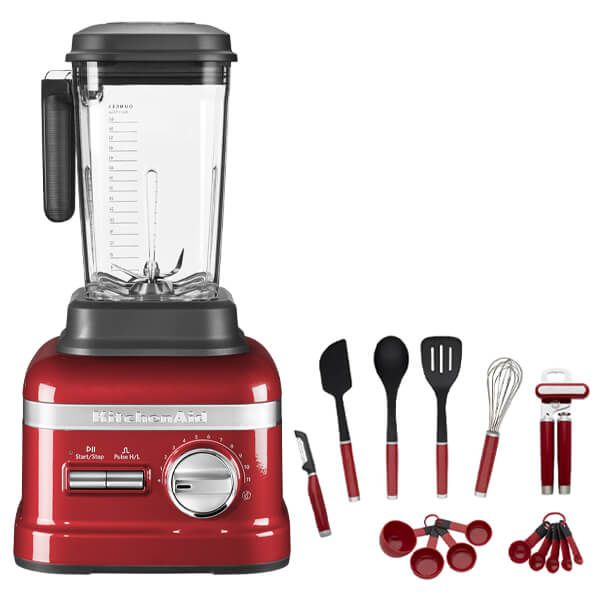 KitchenAid Artisan Empire Red Power Blender with FREE Gift
